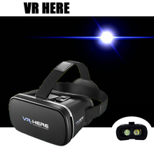 Newest VR BOX Upgraded Original 3D Glasses Google Cardboard II 2.0 IMAX Viewing+Smart Gamepad for 3.5-6.0 inches Smartphone