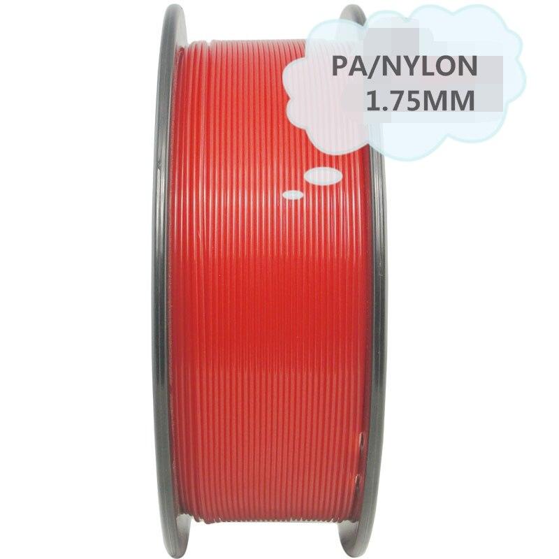 Bilgisayar ve Ofis'ten 3D Baskı Malzemeleri'de PA66 naylon 1.75mm 1KG 3d baskı filament 3d sarf malzemeleri