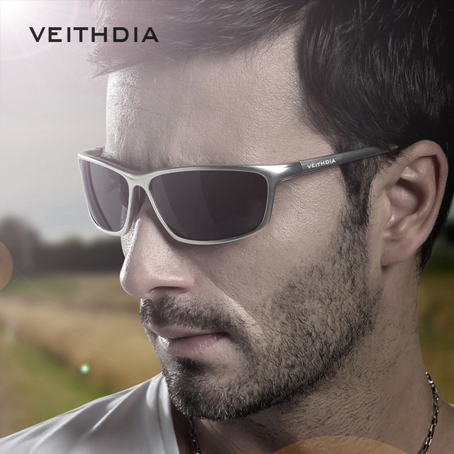 Veithdia 2017 New Brand vintage Driving Polarized Sunglasses For Men Sports oculos  Sunglass Outdoor Goggles Eyeglasses 6520