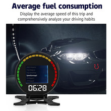 Universal Car OBD II EUOBD HUD Head Up Display OVER Speed Driving Alarm System H(China)