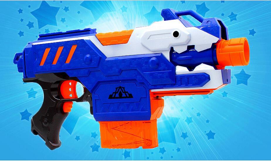 Livraison gratuite jouet fusil de sniper pistolet balle molle jouet pistolet électrique balle molle jouet pistolet pour enfants garçons