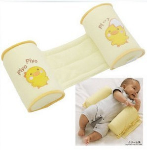 New arrival Cute Baby Toddler Safe Cotton Anti Roll Sleep Head Baby Pillow Positioner Anti-rollove