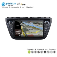 YESSUN For Suzuki S Cross / SX4 2013~2016 Car Android Radio CD DVD Player GPS Navi Map Navigation Audio Video Stereo S160 System