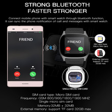 Aaliyah T8 Bluetooth Smart Watches Support SIM &TF Card With Camera