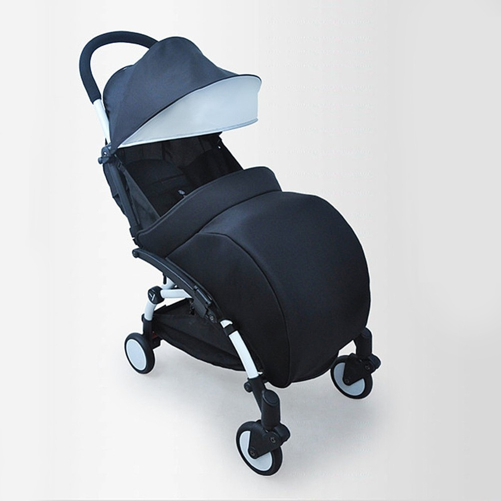 Baby Stroller Accessories Foot Cover Baby Carriage Sock Cotton Pad Warm And Windproof Hood Winter Soft And Warm Pram Foot Cover