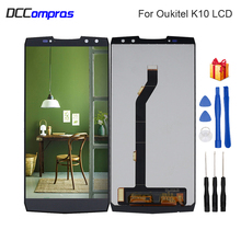 For Oukitel k10 LCD Display Touch Screen Digitizer Repair Parts For Oukitel k10 LCD Screen Display Replacement With Free Tools цена