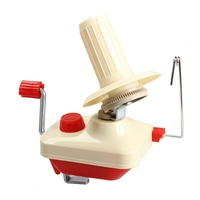 Swift Yarn Winder Fiber String Ball Wool Winder Holder Hand Operated Winder Portable Machine with Plastic Shaft Sewing Tools