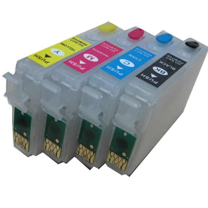 T1811 -T1814 18 многоразовый картридж с чернилами для EPSON, зеркальное оформление, зеркальная фотография