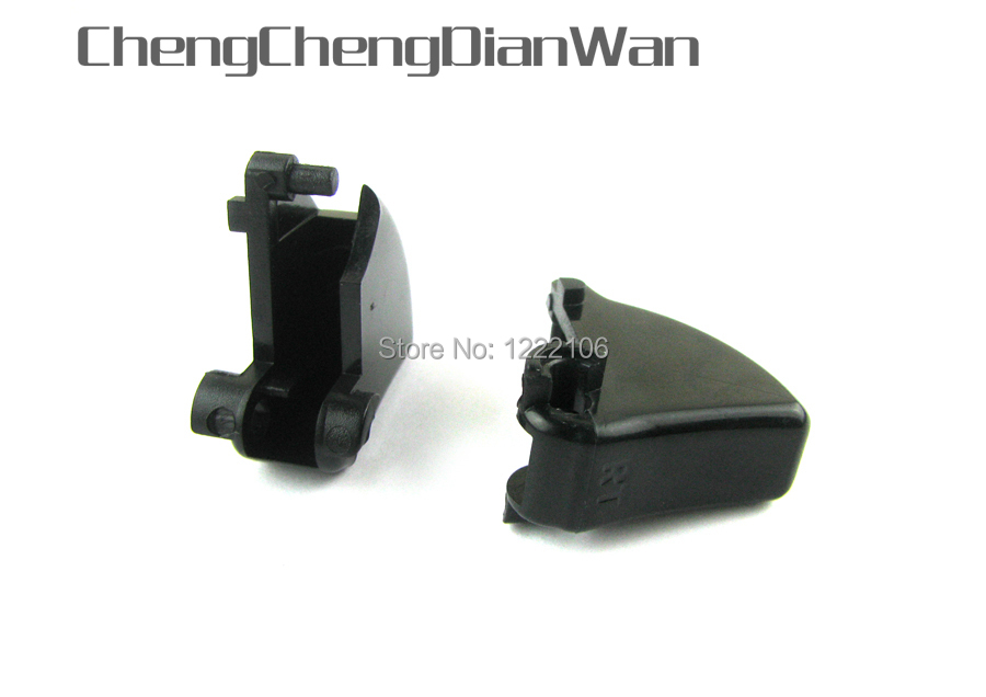 ChengChengDianWan 2sets/lot Black LT RT Trigger Replacement Buttons For Xbox360 Xbox 360 Controller