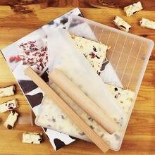 Nova 4 Conjuntos de Açúcar Conjunto De Ferramentas De Corte para Fazer Nougat Nougat Doces Molde de Cozimento Artesanal Neve Fazer Bolo Bandeja ferramenta de corte