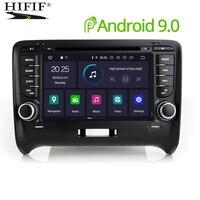 Автомобильный мультимедийный плеер Android 9 gps 2Din Авторадио Стерео Системы для Audi TT MK2 8J 2006 2007 2008 2009 2012 Wi Fi dvd плеер автомобиля