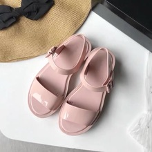 Melissa Shoes Woman Jelly 2019 New Women Sandals Roman Breathable Comfortable Beach