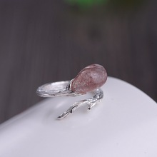 Authentic Ring Silver 925 Handmade Rings For Women With Natu