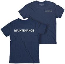 2019 Fashion Double Side Maintenance T-Shirt, Employee Staff Hospitality Hotel Unisex Tee