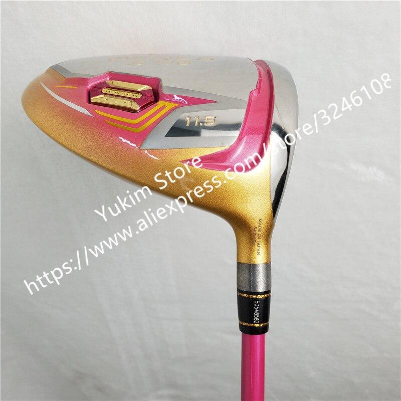 Nuove Donne Golf club HONMA S 06 4 Star di colore Dell'oro driver di Golf 11.5 loft Grafite L flex Club di Trasporto trasporto libero - 5