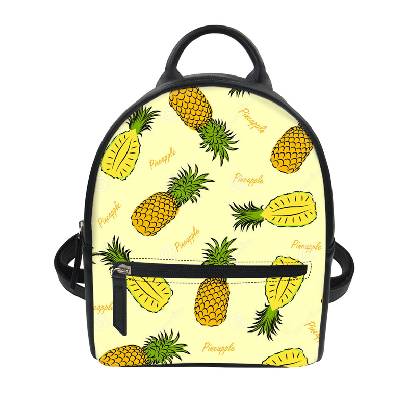 Personalized Pineapples Student Backpack