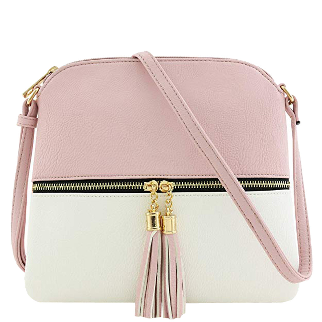 Shell-Bags Crossbody-Bag Sac Patchwork Main Single-Shoulder Women Fashion PU for
