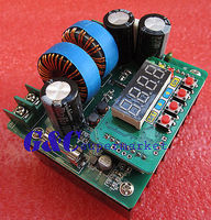 Digital Led 400W 10A constant voltage constant current DC DC Boost module