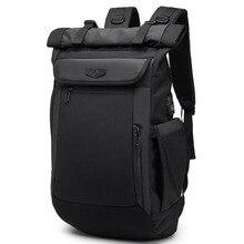 Вместительные мужские рюкзаки, многофункциональный водонепроницаемый ранец для Ноутбука 18 19 дюймов, школьный дорожный портфель для подростков