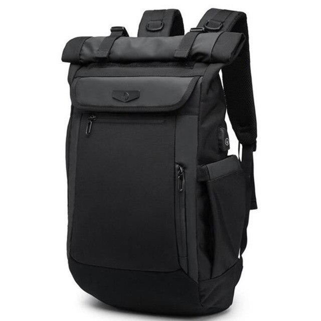 Large Capacity Men Backpacks Waterproof Multifunction 18 19 Inch Laptop Backpack For Teenager Schoolbag Travel Mochilas Bagpack