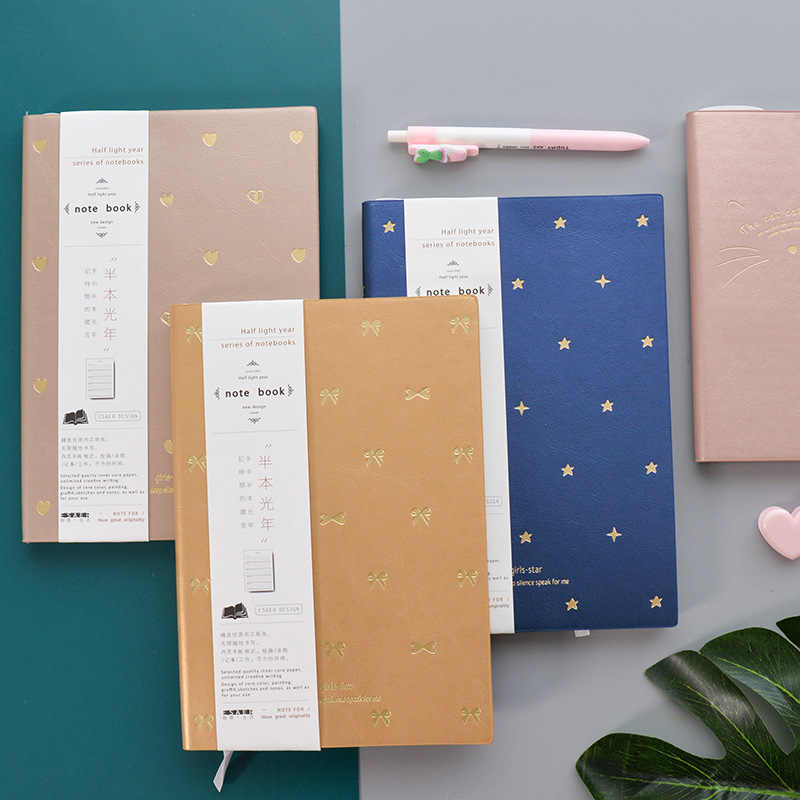 A5 A6 2019 2018 Diary Pu Faux Leather Agenda Sheets Daily Monthly Weekly Planner Agenda list Travelers Pocket Luxury Notebook