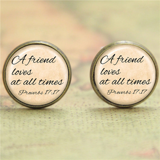 10pairs Lot Friendship Earring A Friend Loves At All Time Print Photo