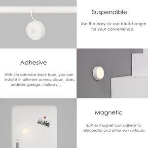 Image 2 - Yeelight night light USB charge Hooks version ,use 120 day one charge ,Humanbody sensor For smart home Kit