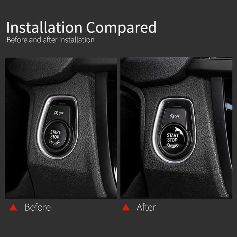 Đen Bắt Đầu Dừng Động Cơ Nút Bấm Dành Cho XE BMW F20/F10/F01/F48/F26/F15 /F16