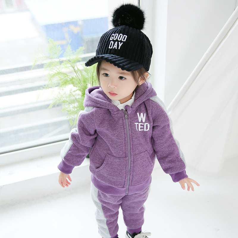 Children Clothing 2017 Autumn Winter Girls Clothes Coat Hoodies+Pant Kids Tracksuits Costume Sport Suit For Girls Clothing Sets teenage girls clothes sets camouflage kids suit fashion costume boys clothing set tracksuits for girl 6 12 years coat pants