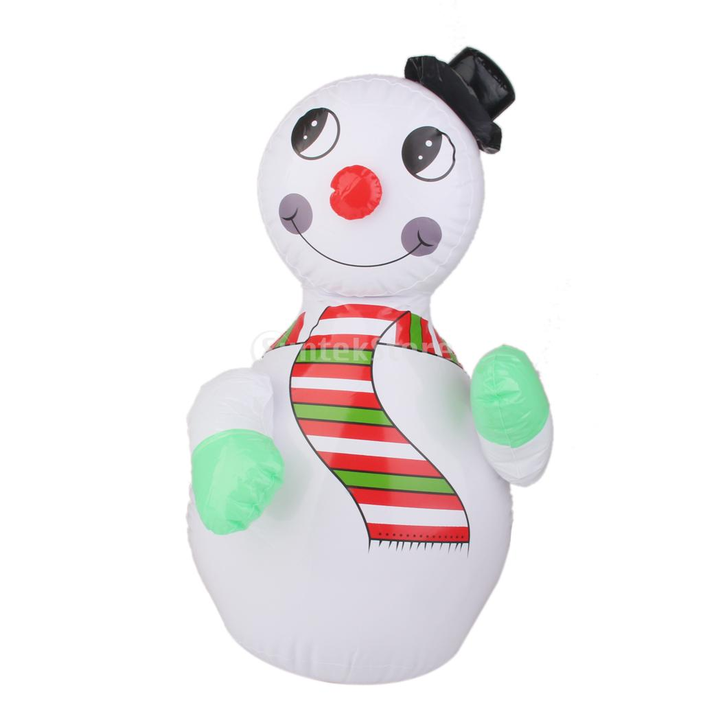 Christmas inflatable snowman blow up christmas decorations airblown ...