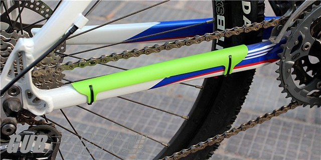 2PCS/LOT New Mountain Bike Bicycle Frame Chain Stay Posted Protector ...