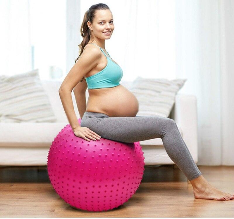 KUUBEE-Yoga-Balls-Fitness-Gym-Exercise-Pilates-Workout-Point-Massage-Yoga-Balance-Ball