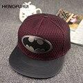 Горячие Продажи 201d Мода Лето Марка Бэтмен Бейсболка Шляпа Для Мужчин и для Женщин Случайные Кости Хип-Хоп Snapback Шапки Шляпы