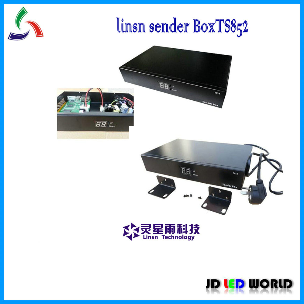 linsn sender box TS852D TS852 LED Sender box SB 8