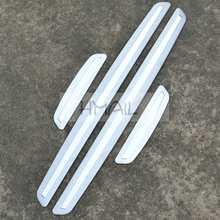 цена на Stainless steel door sill strip for RENAULT FLUENCE 2011 12-16 Threshold trim car-styling welcome pedal Scuff plate cover film