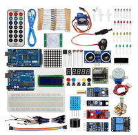 uno r3 starter kit Learning Kit(UNO R3) for Arduino Education with Mega2560 1602 I2C Acrylic Base Plate