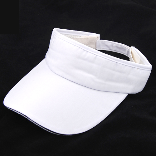 SAF 2016 NEW Unisex Adjustable White Sun Sports Visor Tennis Golf Hat Cap Sweatband Headband