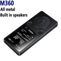 Mahdi M360 Portable Metal MP3 Player Built In Loud Speaker 1 8 Screen Support FM Radio