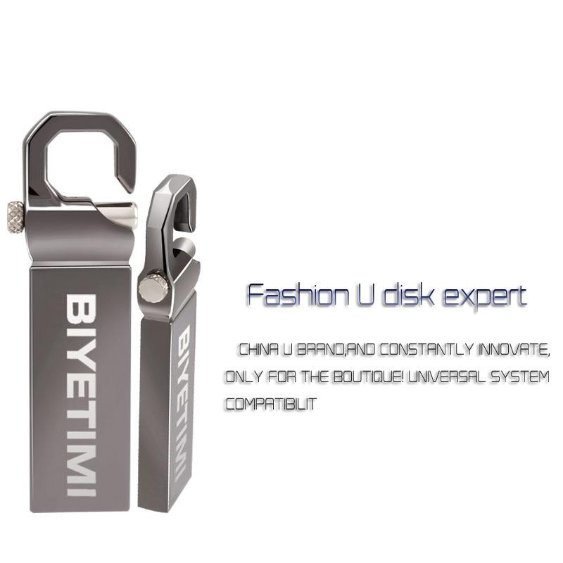 Image 4 - Biyetimi 32GB USB Flash Drive 64GB 16GB Pen Drive memoria usb stick 8GB 4GB Pendrive Stainless Steel USB 2.0 Flash Drive-in USB Flash Drives from Computer & Office