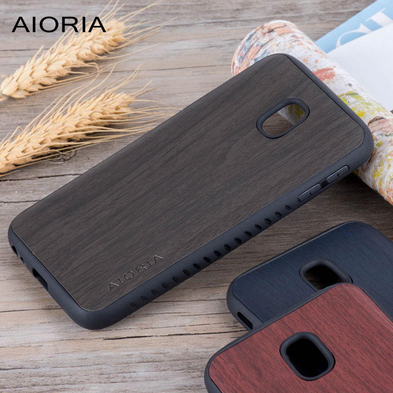 Holz design fall für <font><b>Samsung</b></font> Galaxy J5 <font><b>2017</b></font> j530 <font><b>J3</b></font> <font><b>2017</b></font> j330 pro weiche TPU covers coque fundas image