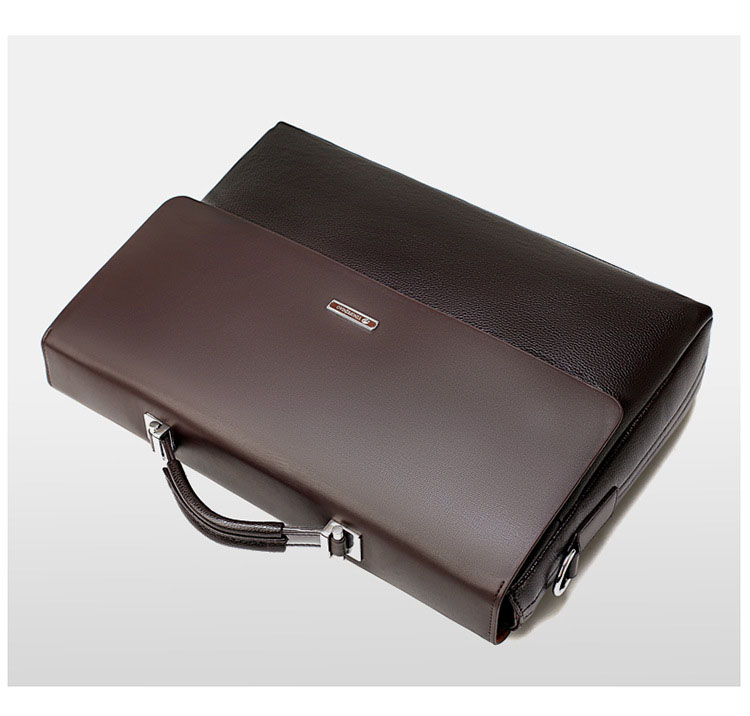 HTB1pzcZO3HqK1RjSZFgq6y7JXXa1 2020 Fashion Business Men Briefcase Leather Laptop Handbag Tote Casual Man Bag For male Shoulder Bag Male Office Messenger Bag