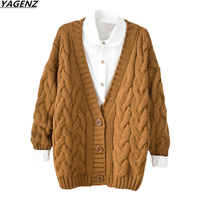 Women Sweater Coat 2017 New College College Winds Short Knitted Cardigan Spring Autumn Coats Casual Female