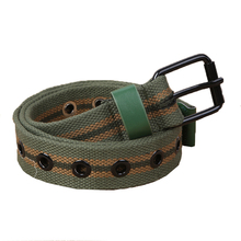 Men Apparel Accessories Quality Military Checkered Belts Patchwork Tactical Thin Elastische Riem Nylon Belt Modis Harajuku