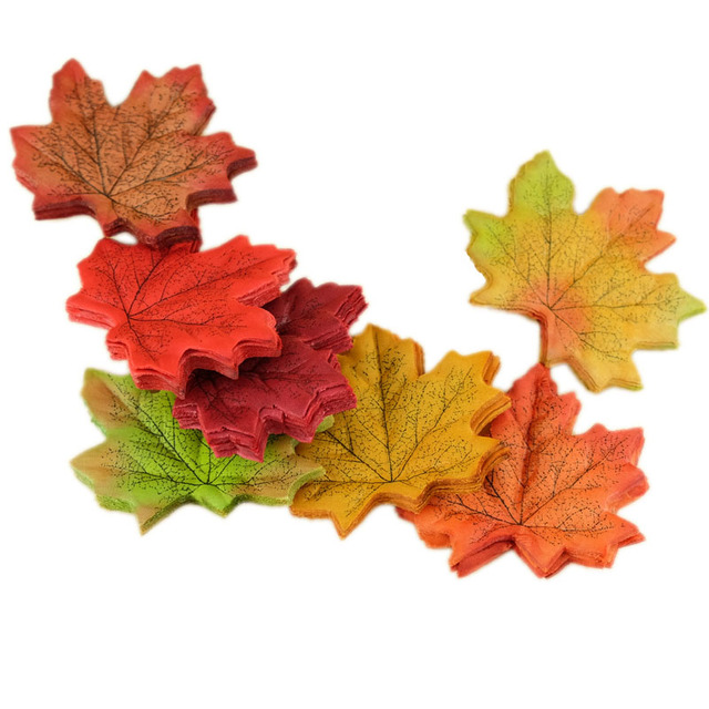 Artifical Maple Leaves Set