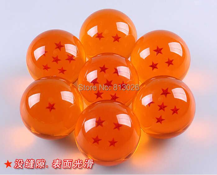 10 pçs/set Dragon Ball Z figura de ação coleção figuras brinquedos para brinquedos de cristal com caixa
