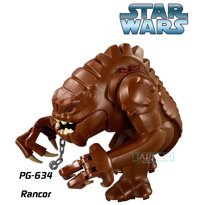 PG634 Star Wars Rancor Einzigen Verkauf Bausteine Beste Sammlung Modell Für Kinder Geschenk Klassische Figuren Kinder DIY Spielzeug Hobbies