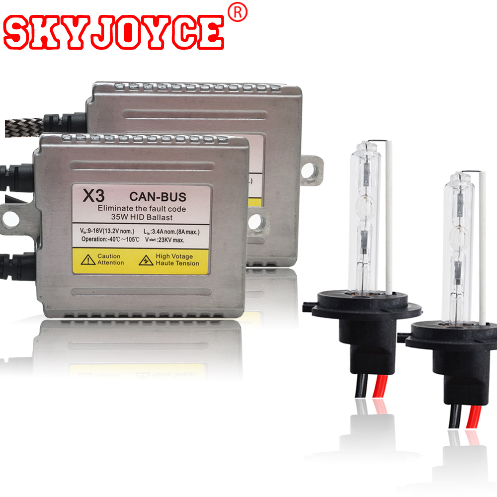 5 sets canbus hid ballast kit 35W 12V no error/error free xenon hid kit headlight system AC H1 H3 H7 H11 9005 9006