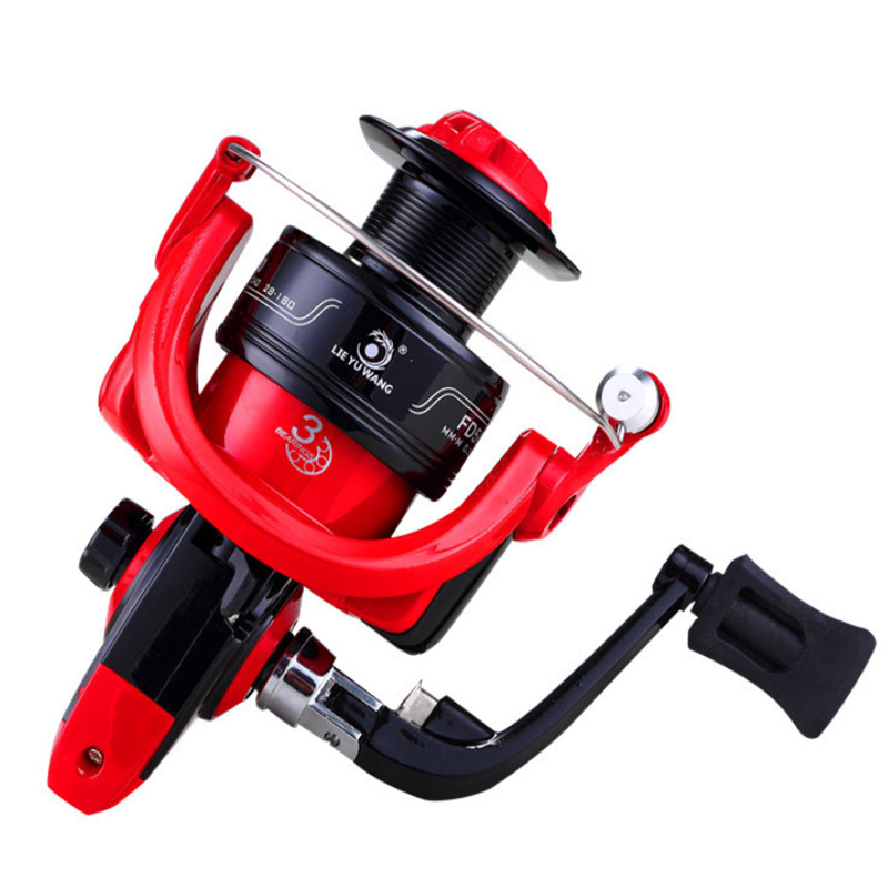 Spinning Fishing Reels Fly Wheel High Speed 5.0:1 G-Ratio Bait Casting Metal Carp Coils Fishing Tools and Accessories Carretes