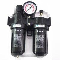 Pneumatic Air Filter Regulator Lubricator Combinations Water Oil Separator