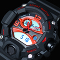 EPOZZ homens relógios de esportes G estilo do relógio digital à prova d' água Resistente Ao Choque preto masculino